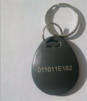 Hitag2-FOB06-Num - Porte-Clé Hitag2 avec numéro gravé par Lot de 100 pièces