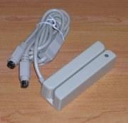MSR-210D-12 -- Lecteur carte magnétique interface clavier, 2 pistes