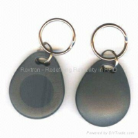 EM4150-FOB06 Gris - Porte-clés RFID EM4150/EM4450/EM4550