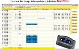 MaxTime - Logiciel de gestion de temps pour pointeuse